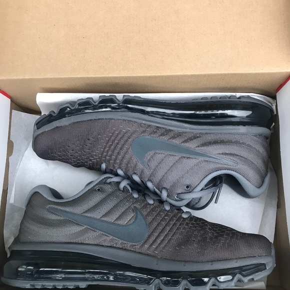 best service 1e716 17bc7 Air max 2017 Cool grey Anthracite Dark Grey NWT